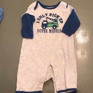 Other - Lot of SIX- 0-3 & 3 mo. One piece outfits